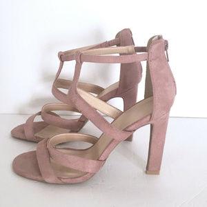 Charlotte Russe Heels Stilettos Pink Sandals 9